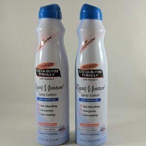 Palmer's Rapid Moisture Spray Lotion